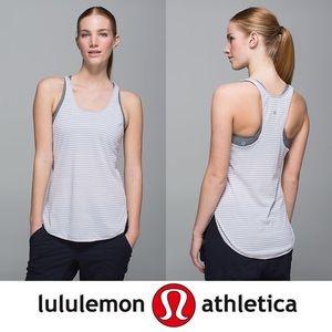 Lulu Lemon Striped Tank Top